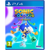 Sonic Colours Ultimate PS4 Game