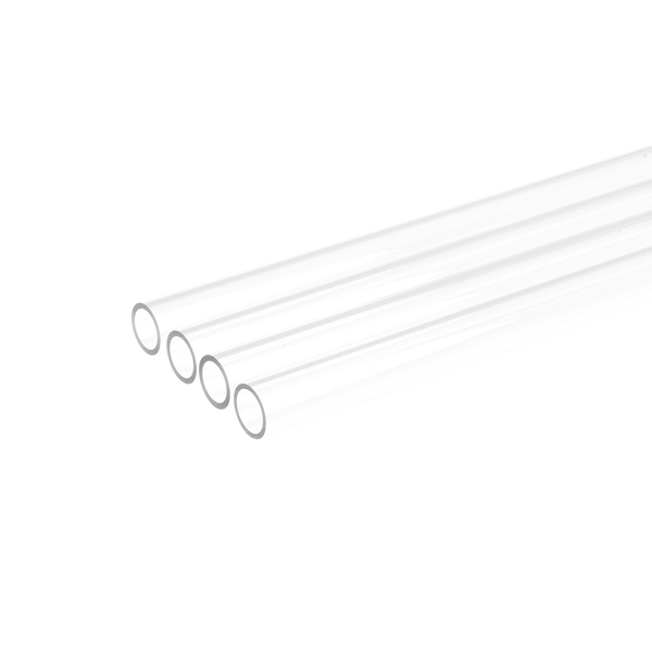 Alphacool Hard Tube 13mm Clear Plexi 80cm - 4pcs
