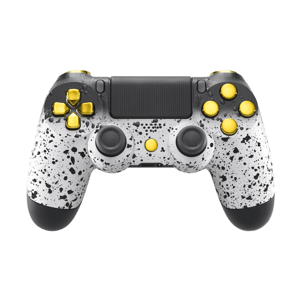 Image of PlayStation 4 Controller - 3D White Shadow Edition - Custom Controller