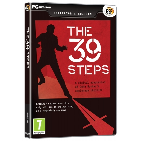 The Thirty Nine (39) Steps Game PC