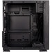Kolink Inspire Series K1 Mid Tower 1 x USB 3.0 / 2 x USB 2.0 Tempered Glass Side & Front Window Panel Black Case with RGB LED Fans - Image 3