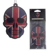 Skull Design Vanilla Scented (Pack Of 6) Air Freshener
