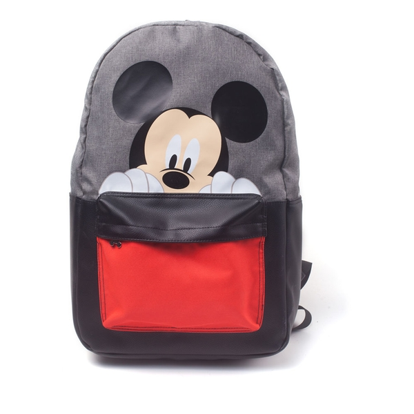 Disney - Mickey Mouse & Friend'S All-Over Pattern Print Backpack - Multi-Colour