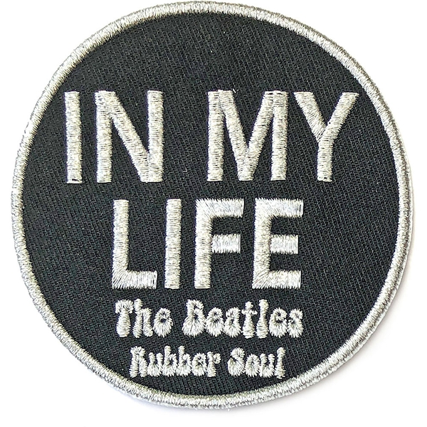 The Beatles - In My Life Standard Patch