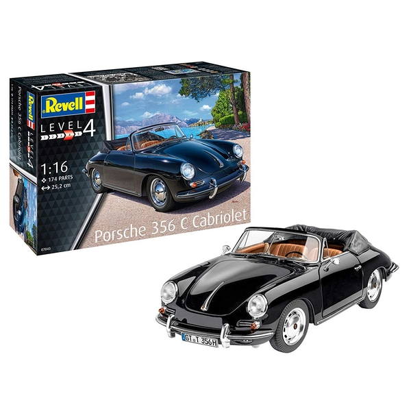 Porsche 356 Coupe 1:16 Revell Model Kit - Image 1