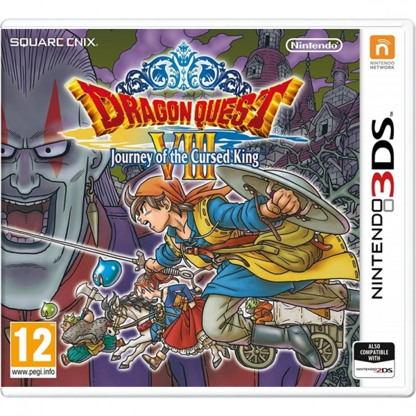 (Damaged Packaging) Dragon Quest VIII Journey Of The Cursed King 3DS - Image 1