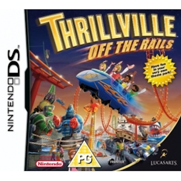 Thrillville 2 Off The Rails Game DS