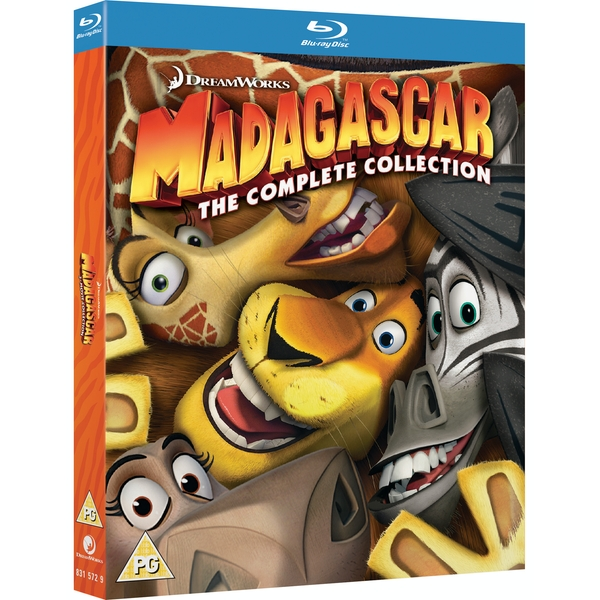 Madagascar: The Complete Collection Blu-ray
