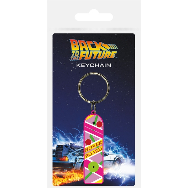 Back To The Future - Hoverboard Keychain