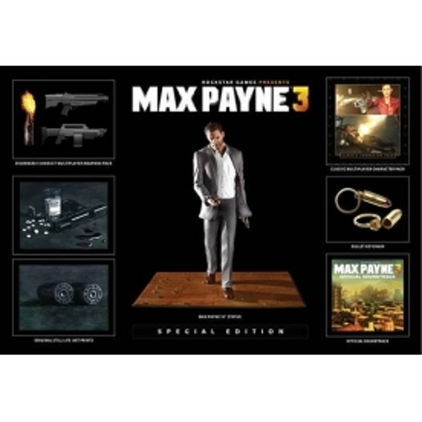 Max Payne 3 Special Edition Game PC