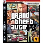 Grand Theft Auto IV 4 GTA Game (Greatest Hits) PS3
