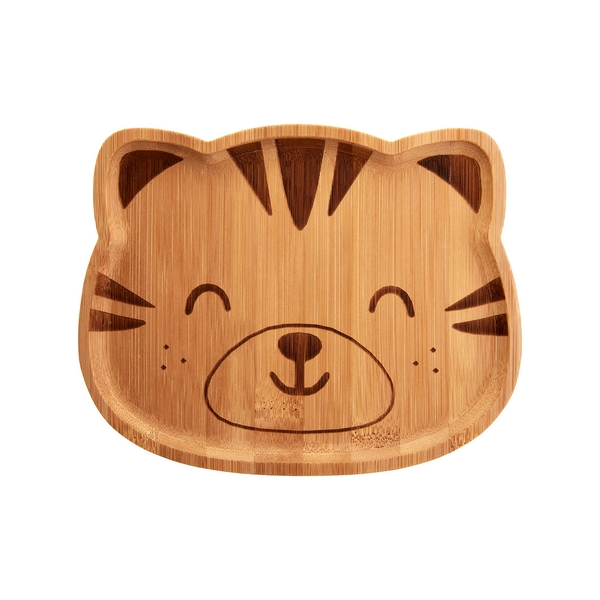 Sass & Belle Tiger Bamboo Plate