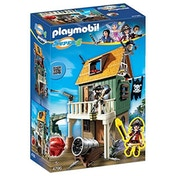 Playmobil Super 4 Pirates Toy - Gunpowder Island Hidden Pirate Fort