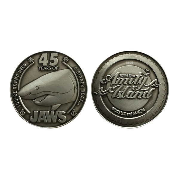 Jaws Collectable Coin 45th Anniversary Limited Edition
