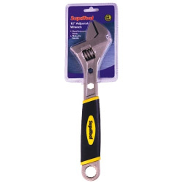 SupaTool Adjustable Wrench with Power Grip 12inch/300mm