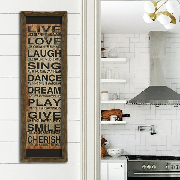 MZM416 Multicolor Decorative Framed MDF Painting