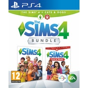 The Sims 4 + Cats & Dogs Bundle PS4 Game