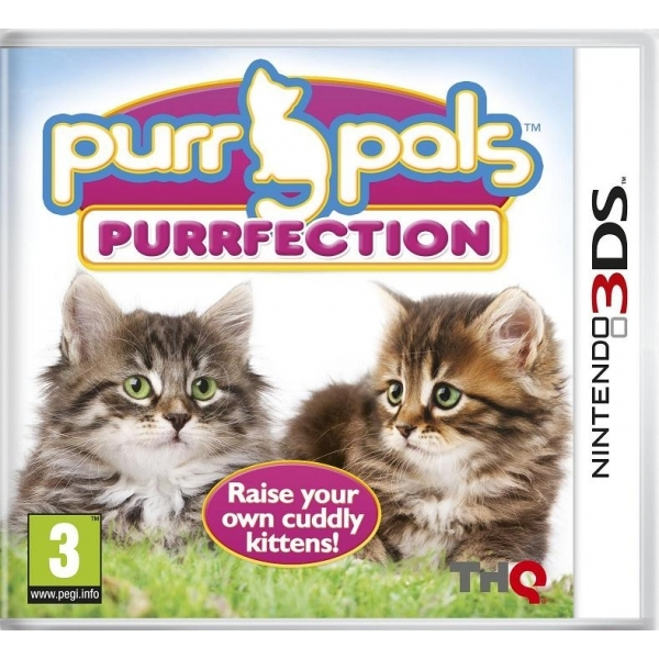 Purr Pals Purrfection Game 3DS