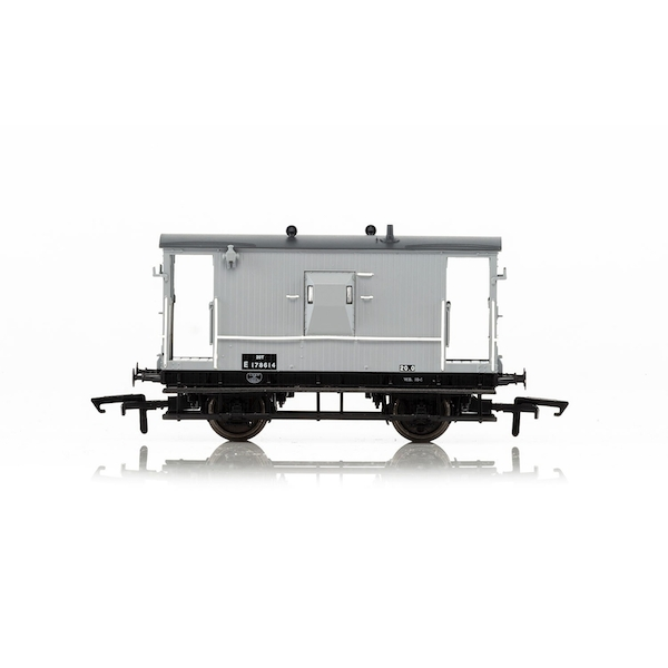 Hornby BR Dia.064 'Toad E' 20T Brake Van E178614 Era 4 Model Train