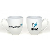 Metal Gear Solid Rising Revengeance Maverick Security Consulting White Mug