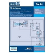Imray Chart A233 : Virgin Islands - Double-Sided Sheet Combining Charts A231 and A232 : 233