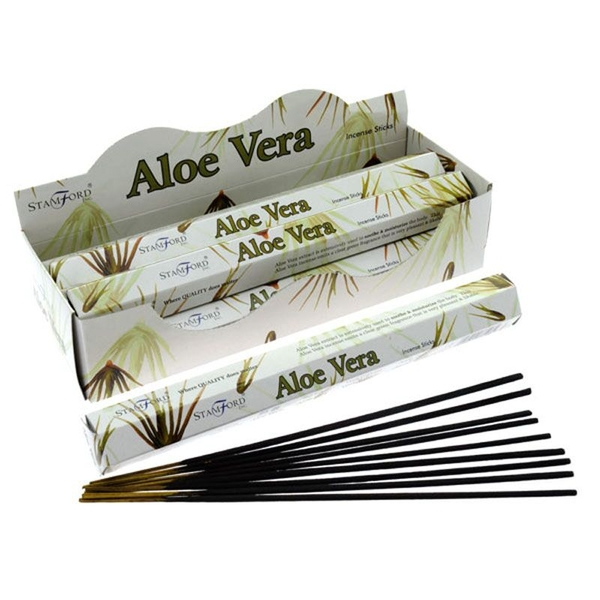 Aloe Vera (Pack Of 6) Stamford Hex Incense Sticks