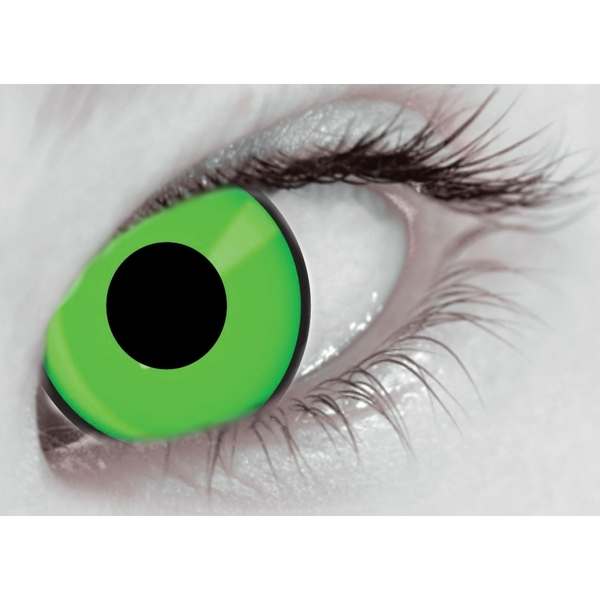 Eggy Weg Green MesmerGlow UV Cosmetic Lenses 1 Day - Image 2