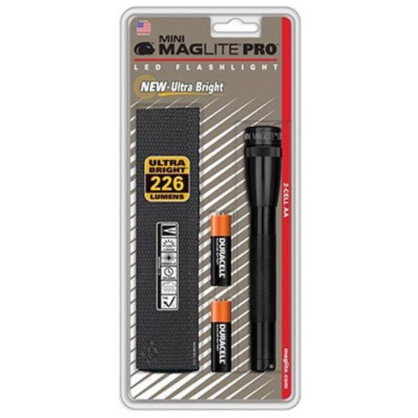 Maglite AA Pro LED Blisterpack Flashlight Black