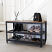 3 Tier Shoe Rack Bench | M&W - Image 2