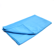 Quick Drying Microfiber Towel. Lightweight Home & Gym M&W Blue Medium (80x130cm)