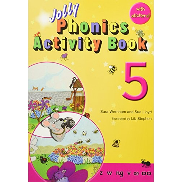 Jolly Phonics Activity Book 5: in Precursive Letters (BE) by Sue Lloyd, Sara Wernham (Paperback, 2010)