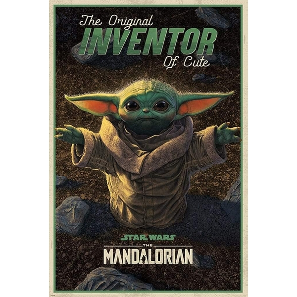 Star Wars: The Mandalorian Poster Inventor of Cute 174
