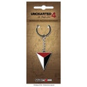 Uncharted 4 Shoreline Harpoon Logo Keychain