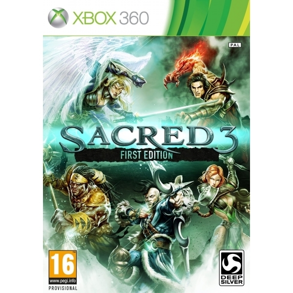 Sacred 3 First Edition Xbox 360 Game