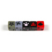 Binding of Isaac: Unholy Rollers Custom Dice Set