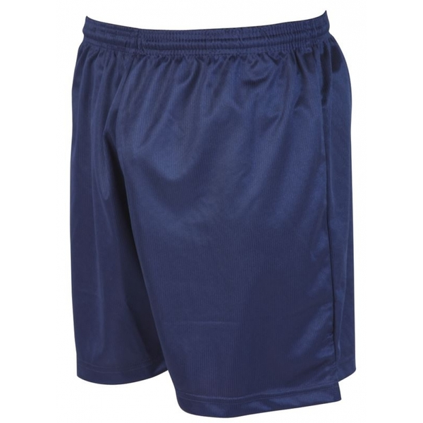 Precision Micro-stripe Football Shorts 26-28 inch Navy Blue