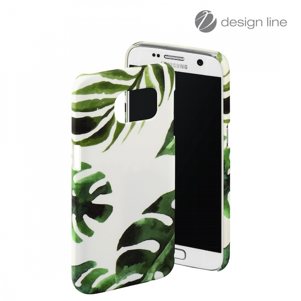 Hama Tropical Cover for Samsung Galaxy S7, green, Limited Edition