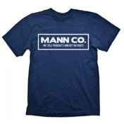 Team Fortress 2 Mann Co. Extra Large Dark Blue T-Shirt