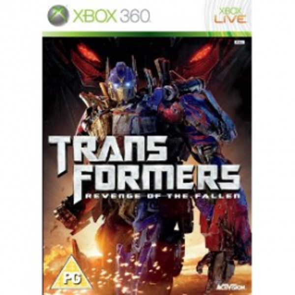Transformers 2 Revenge Of The Fallen Game Xbox 360