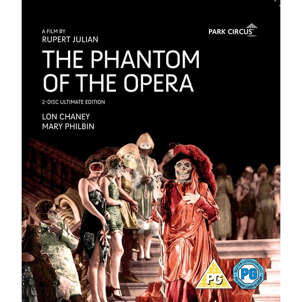 Phantom Of The Opera Blu-Ray