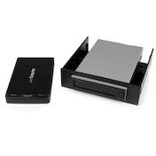 StarTech Removable 2.5 inch SATA HDD Enclosure/Backup System/Mobile Rack for 3.5/5.25  Bay