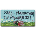 Shh Hangover Smiley Magnet Pack Of 12