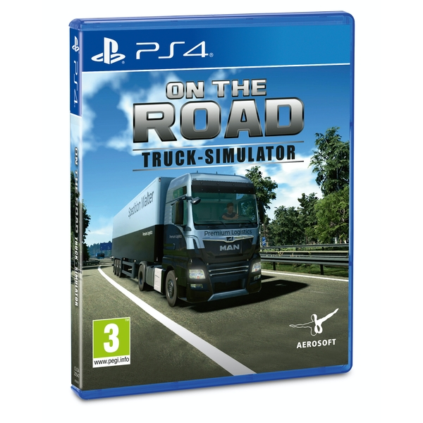 On The Road Truck Simulator PS4 Game