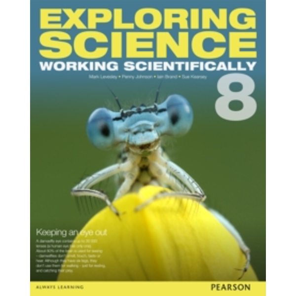 Exploring Science: Working Scientifically Student Book Year 8