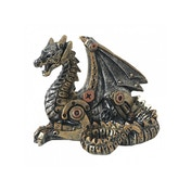 Mechanical Hatchling Dragon Statue