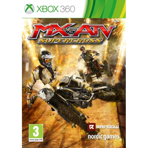 MX vs ATV Supercross Xbox 360 Game - Image 1