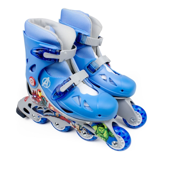 Marvel Comics - Avengers Assemble Kid's Inline Roller Skates (Multi-colour)