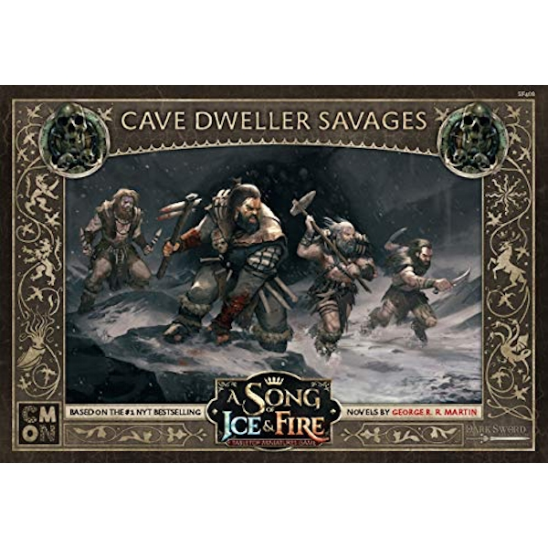 A Song Of Ice and Fire Free Folk Cave Dweller Savages Expansion