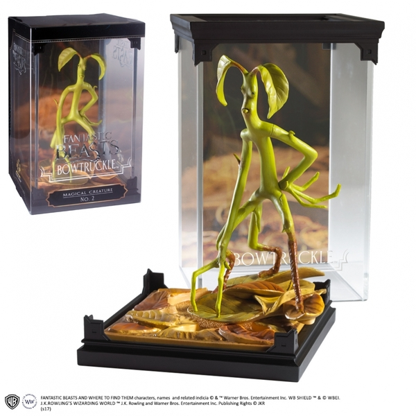 Bowtruckle (Fantastic Beasts And Where To Find Them) Magical Creatures Noble Collection Statue - Image 2