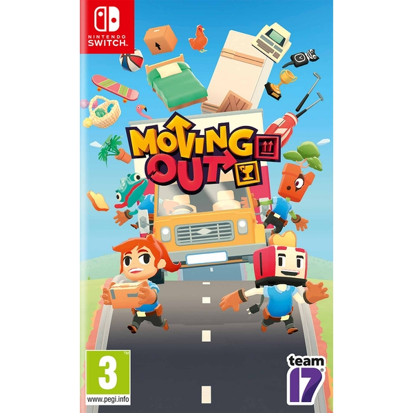 Moving Out Nintendo Switch Game
